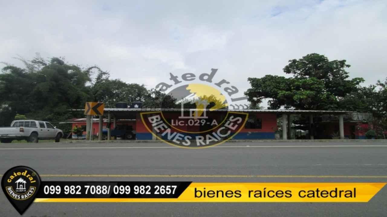 Hacienda de Venta en Quito Ecuador sector Santo Domingo - Recinto 10 de Agosto