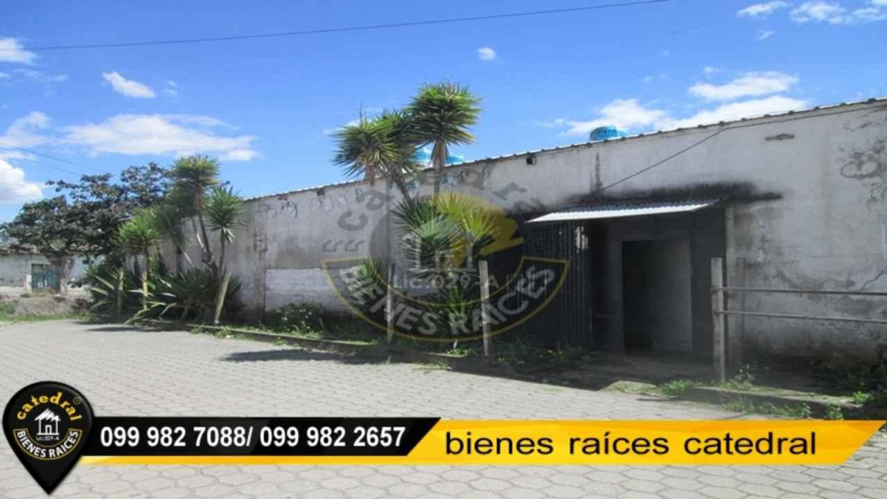 Nave Industrial de Venta en Cuenca Ecuador sector Amaguaña/ Centro Historico
