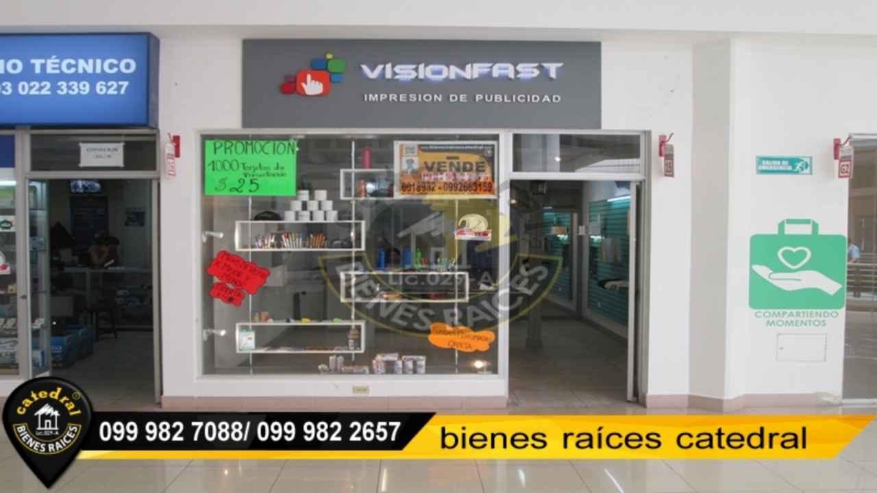 Local Comercial/Oficina de Venta en Quito Ecuador sector Valle de los Chillos/Sangolquí - La Paz/Santa Clara