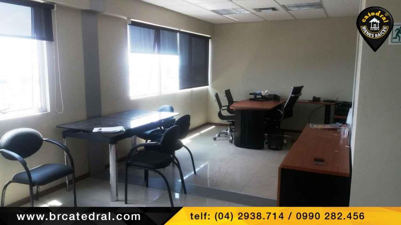 Commercial property for Sale in Guayaquil Ecuador sector EDIFICIO TRADE BUILDING