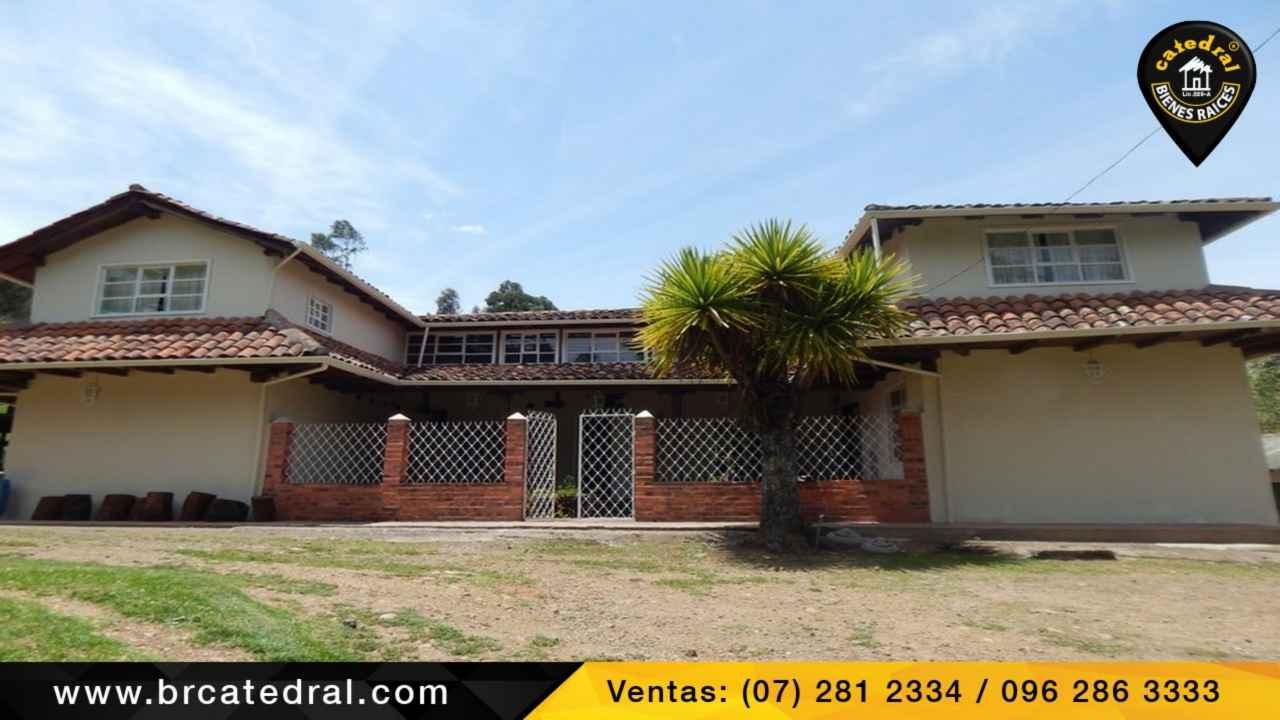 Ranch for Sale in Cuenca Ecuador sector Quingeo