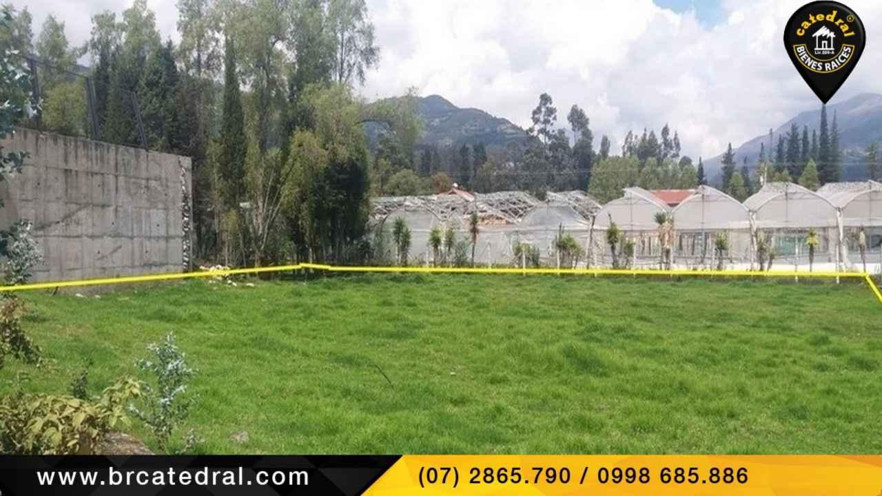 Sitio Solar Terreno de Venta en Cuenca Ecuador sector Sector San Joaquin