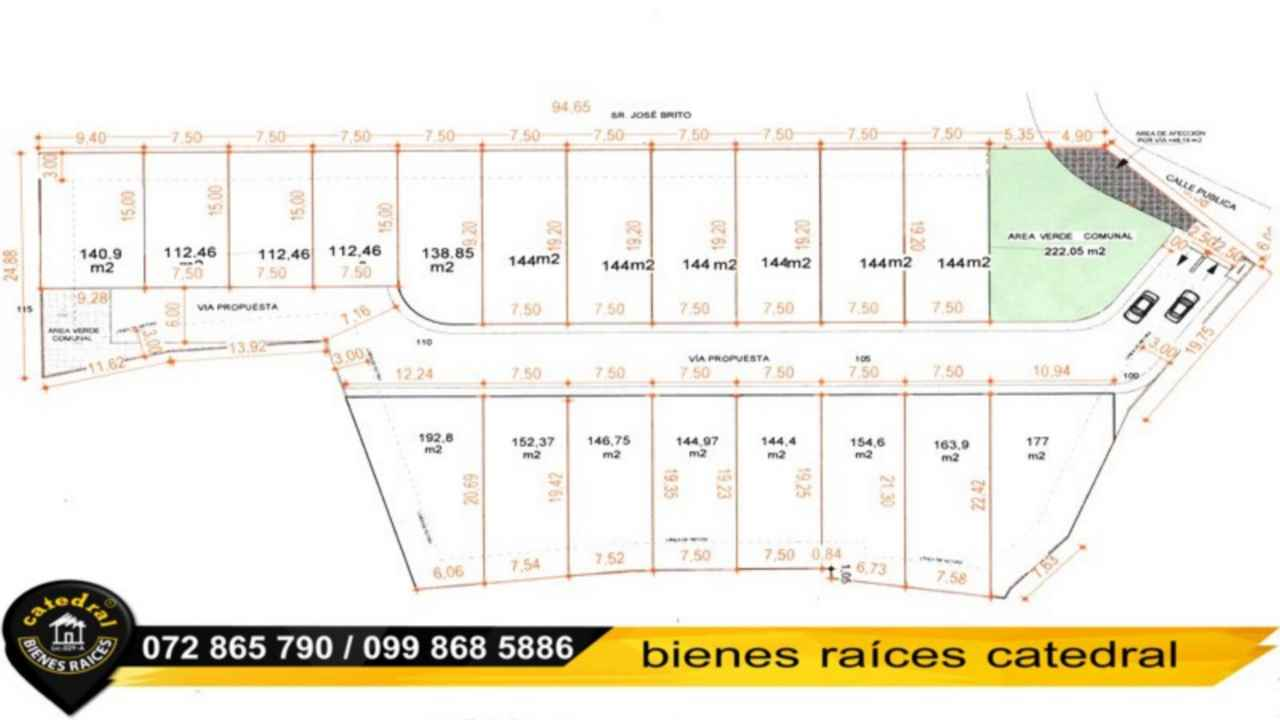 Land for Sale in Cuenca Ecuador sector El Tejar