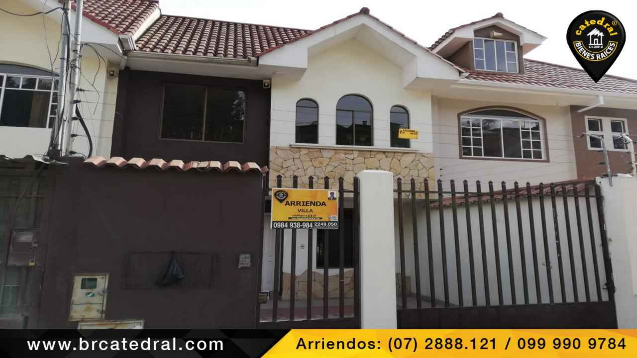 House for Rent in Cuenca Ecuador sector Av. Ordoñez Lasso - Balzay