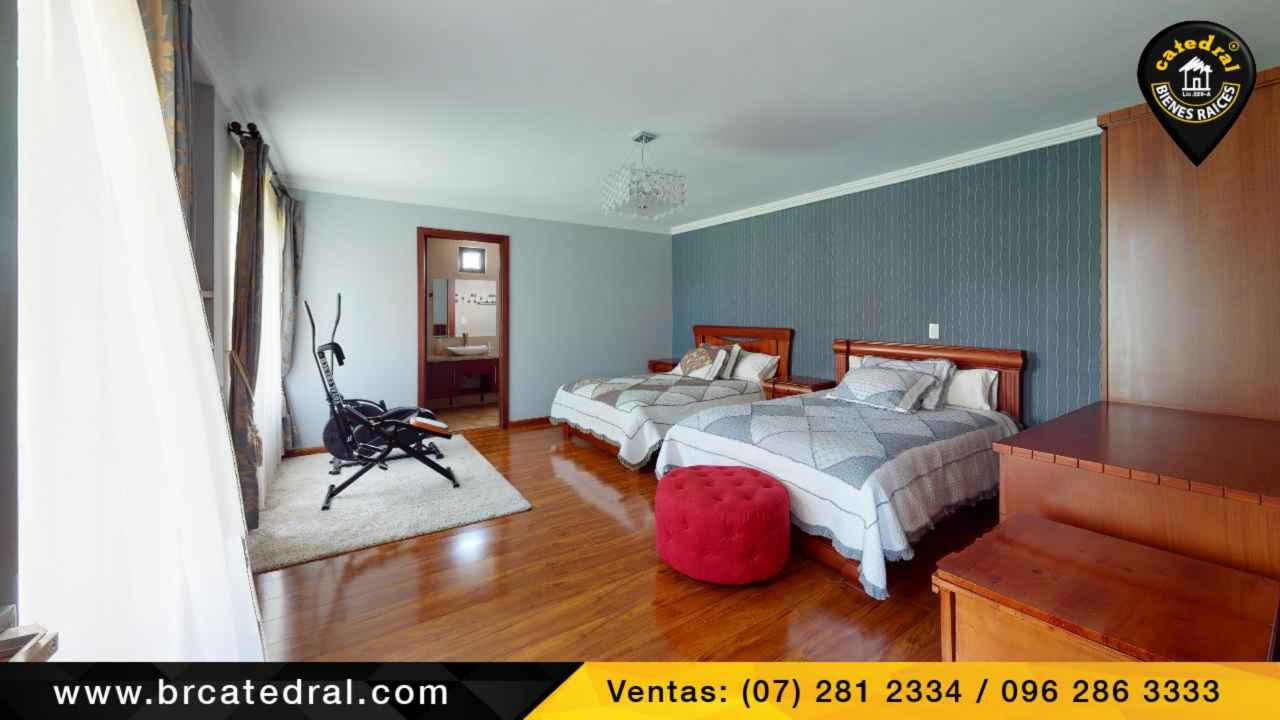 House for Sale in Cuenca Ecuador sector Private and first class