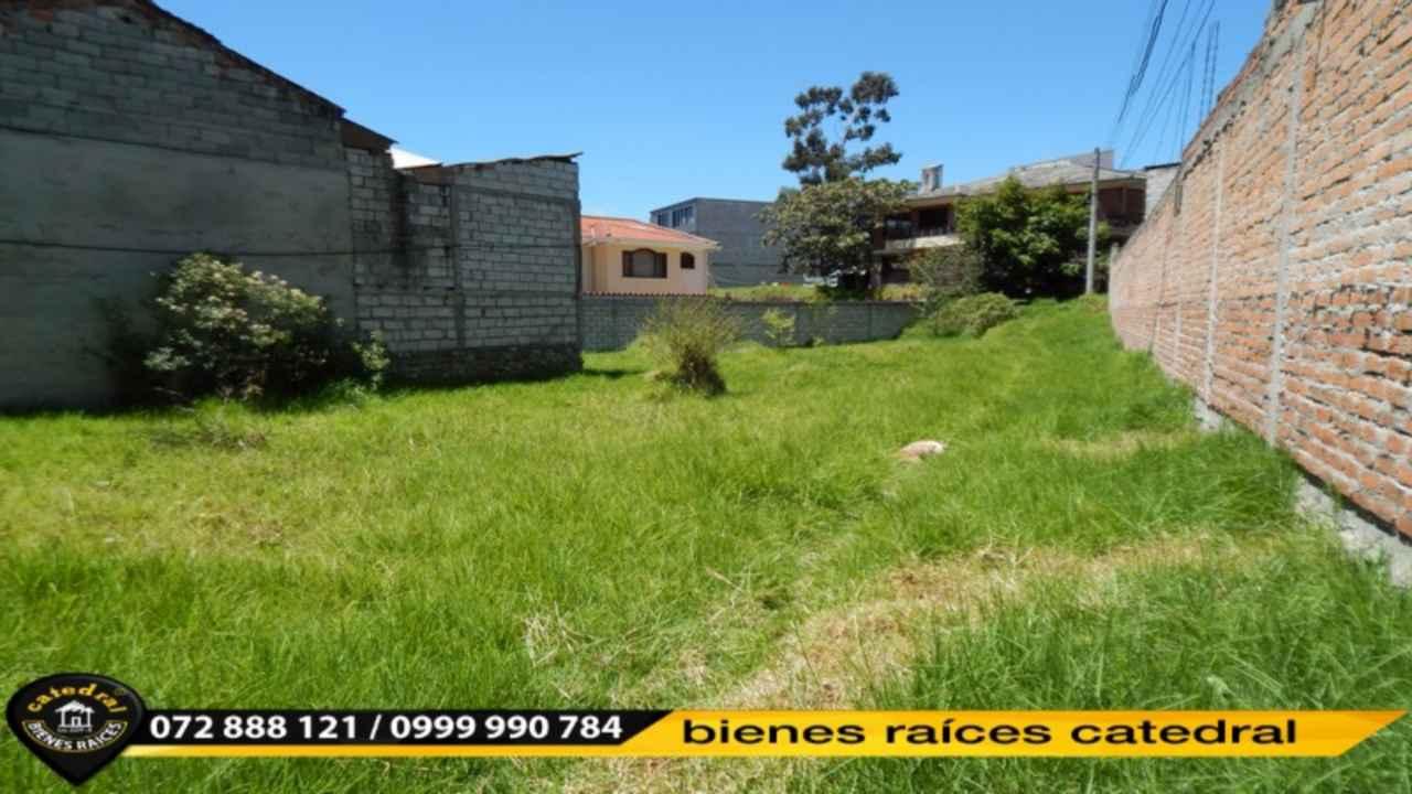 Land for Sale in Cuenca Ecuador sector Primero de mayo