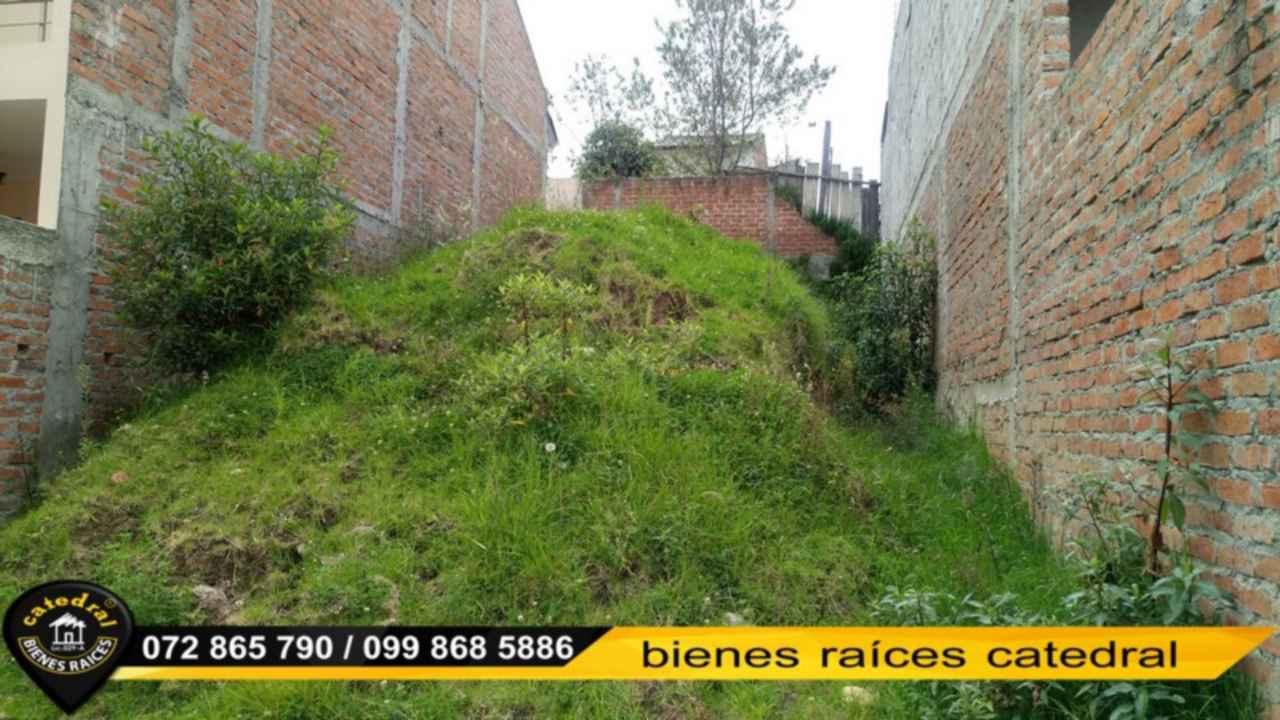 Land for Sale in Cuenca Ecuador sector Racar
