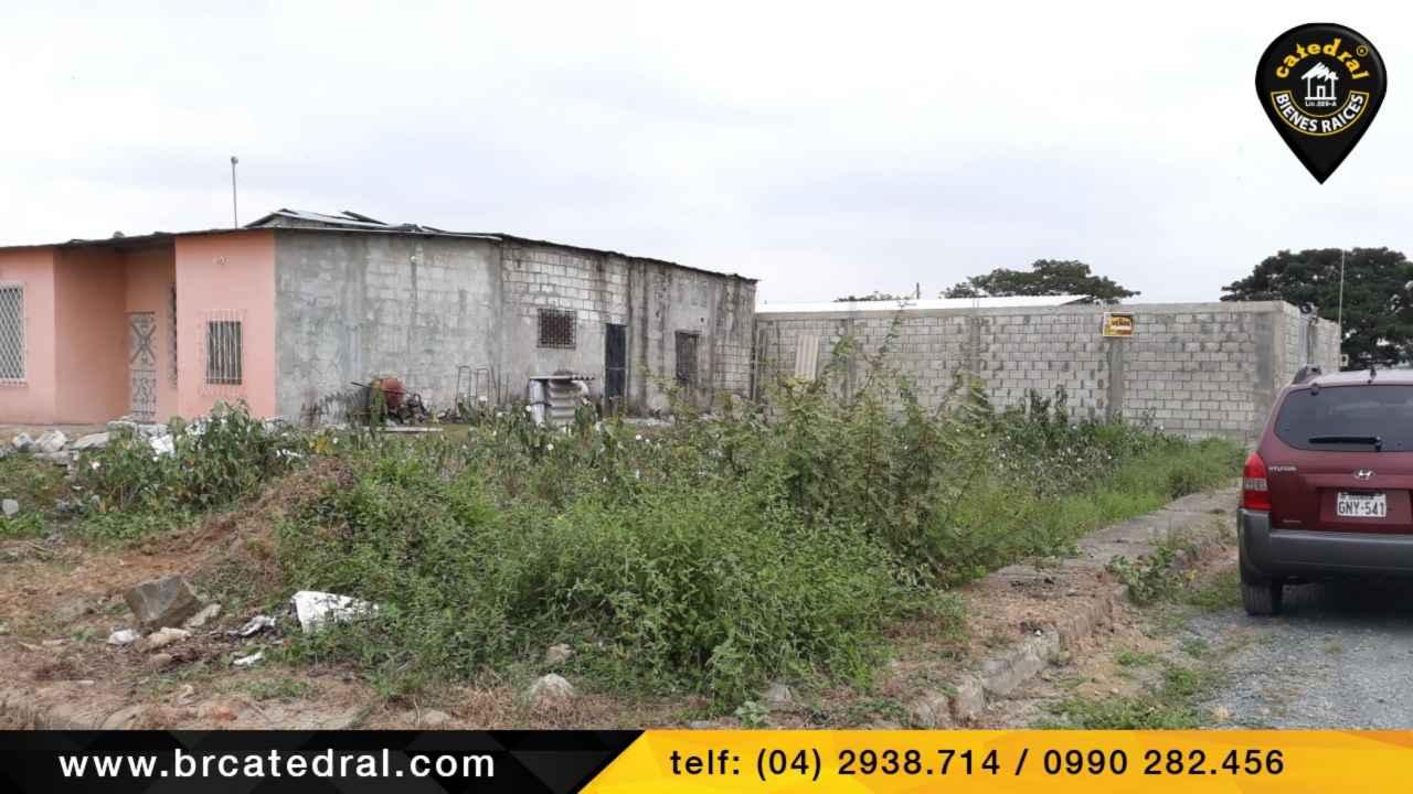 Land for Sale in Guayaquil Ecuador sector Cdla. La Gloria