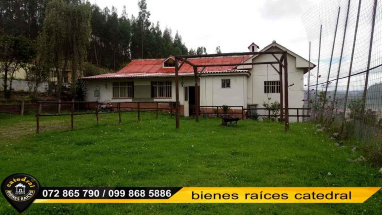 Ranch for Sale in Cuenca Ecuador sector Unión alta de Baños