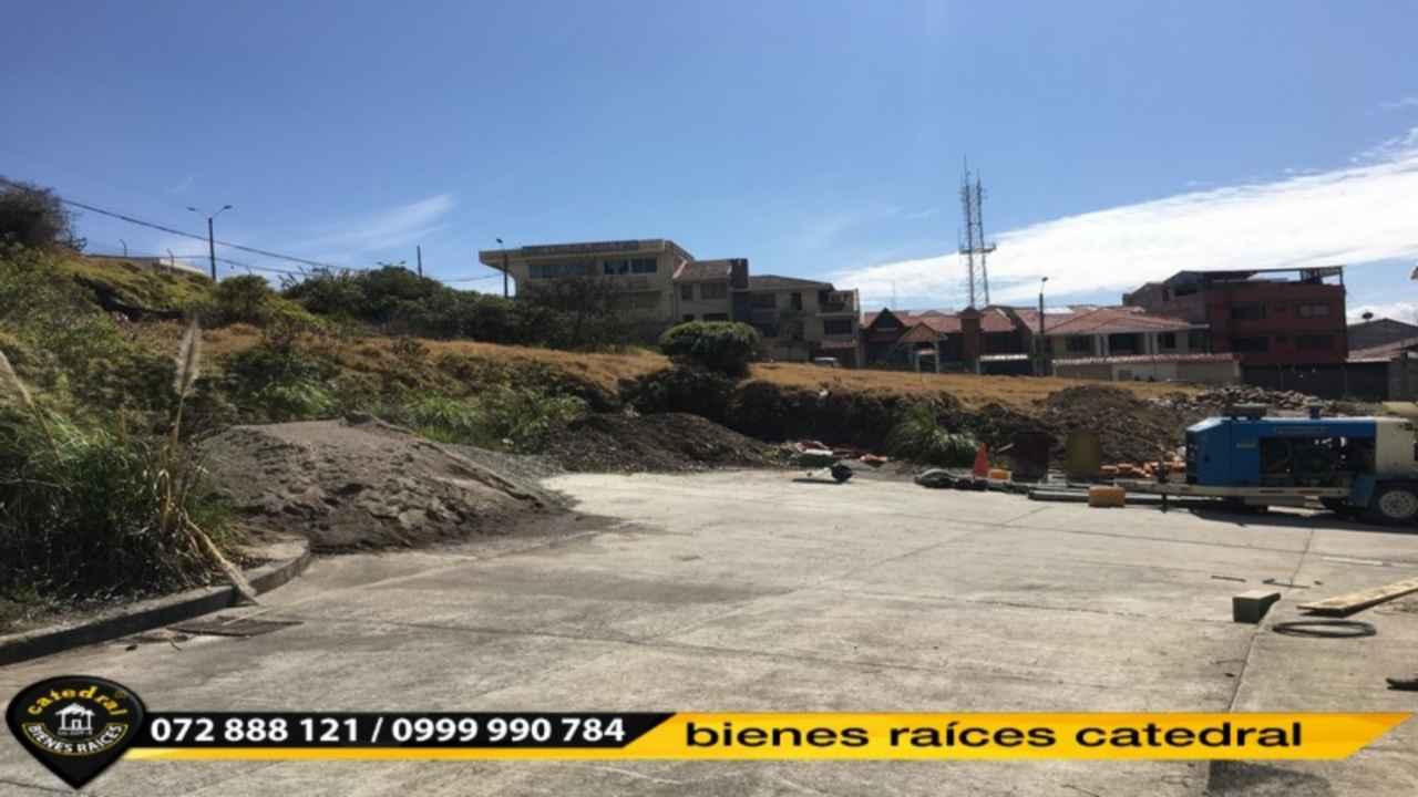 Land for Sale in Cuenca Ecuador sector Bomberos - Rafael Maria Arizaga - Centro