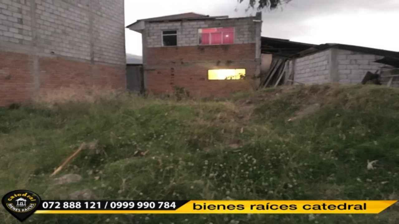 Land for Sale in Cuenca Ecuador sector SAN JOSE DE BALZAY