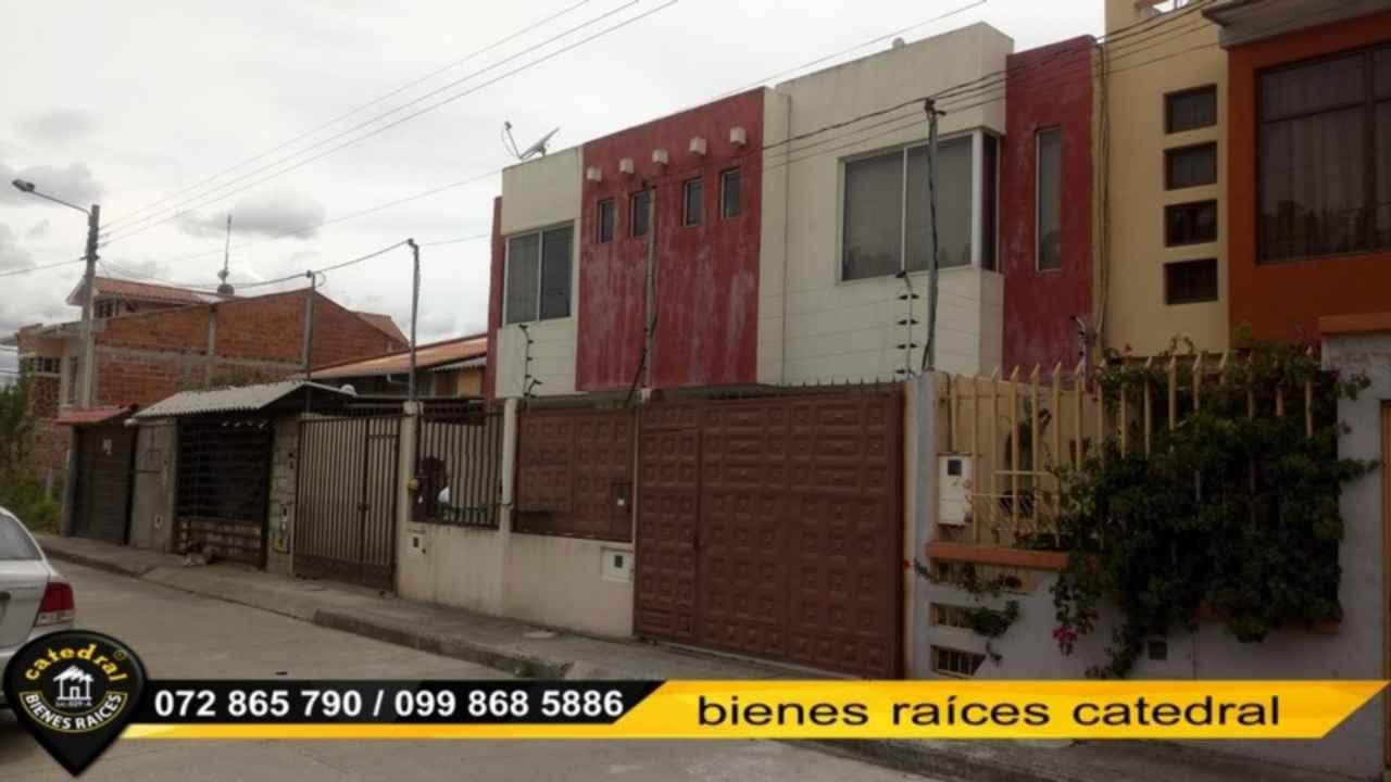 House for Sale in Cuenca Ecuador sector Cdla. De Arquitectos - Ochoa León