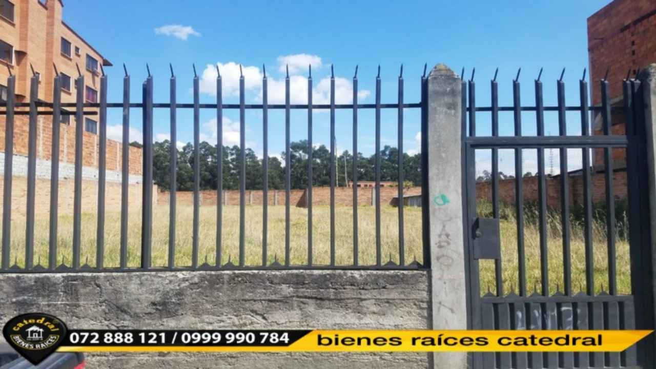 Land for Rent in Cuenca Ecuador sector Isabel la catolica
