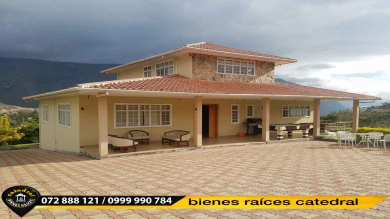 Quinta Hacienda de Venta en Cuenca Ecuador sector Yunguilla - Santa Isabel