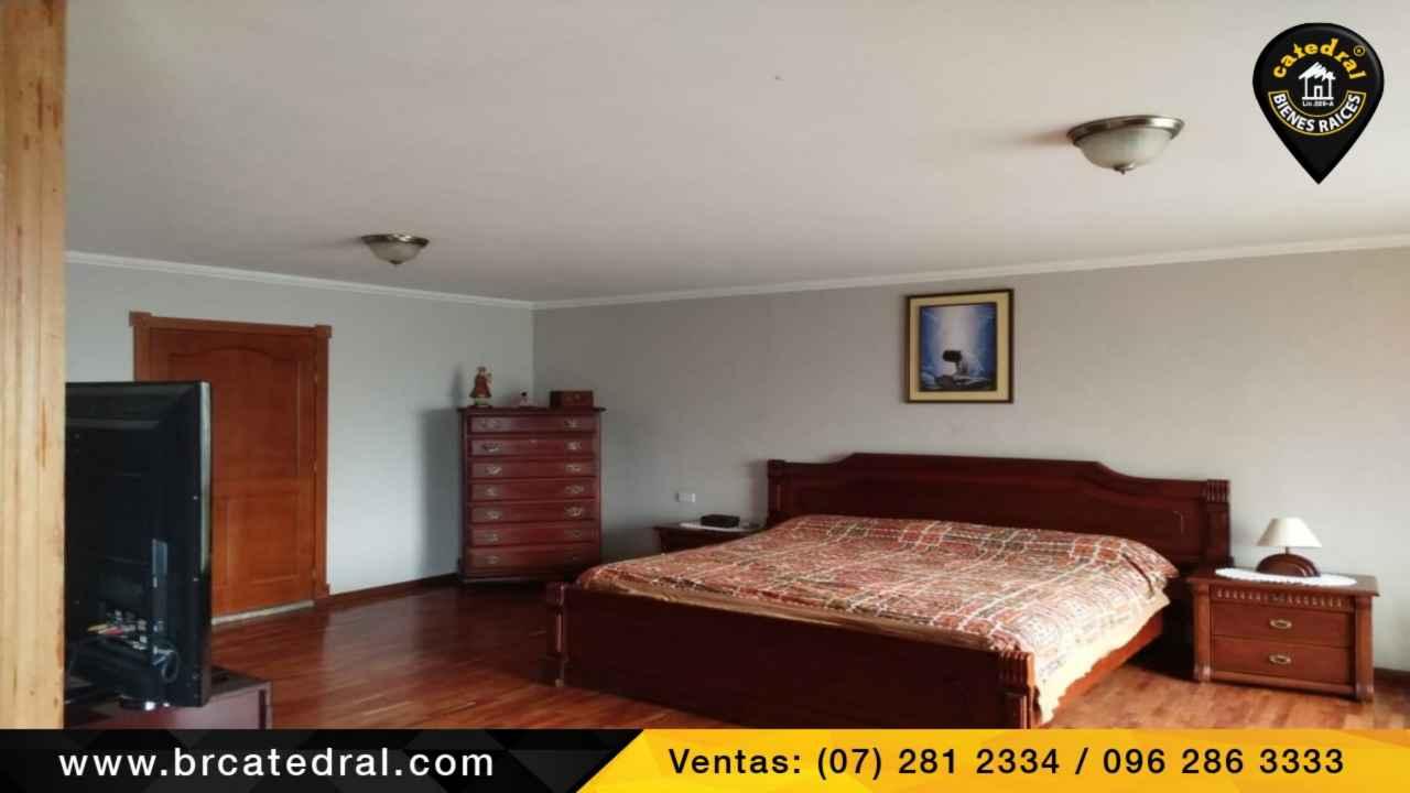 House for Sale in Cuenca Ecuador sector Panamericana Norte - Gonzales Suarez  - Cholas de piedra - Kennedy