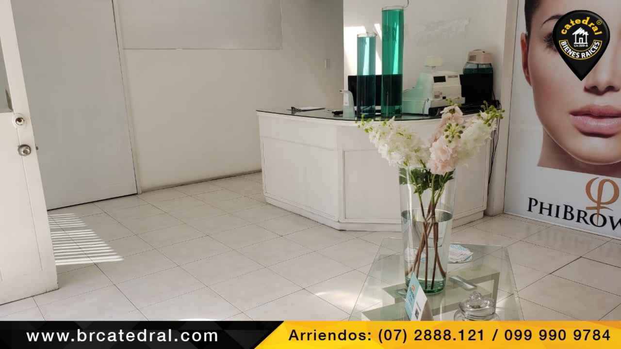 Commercial property for Rent in Cuenca Ecuador sector Remigio Crespo