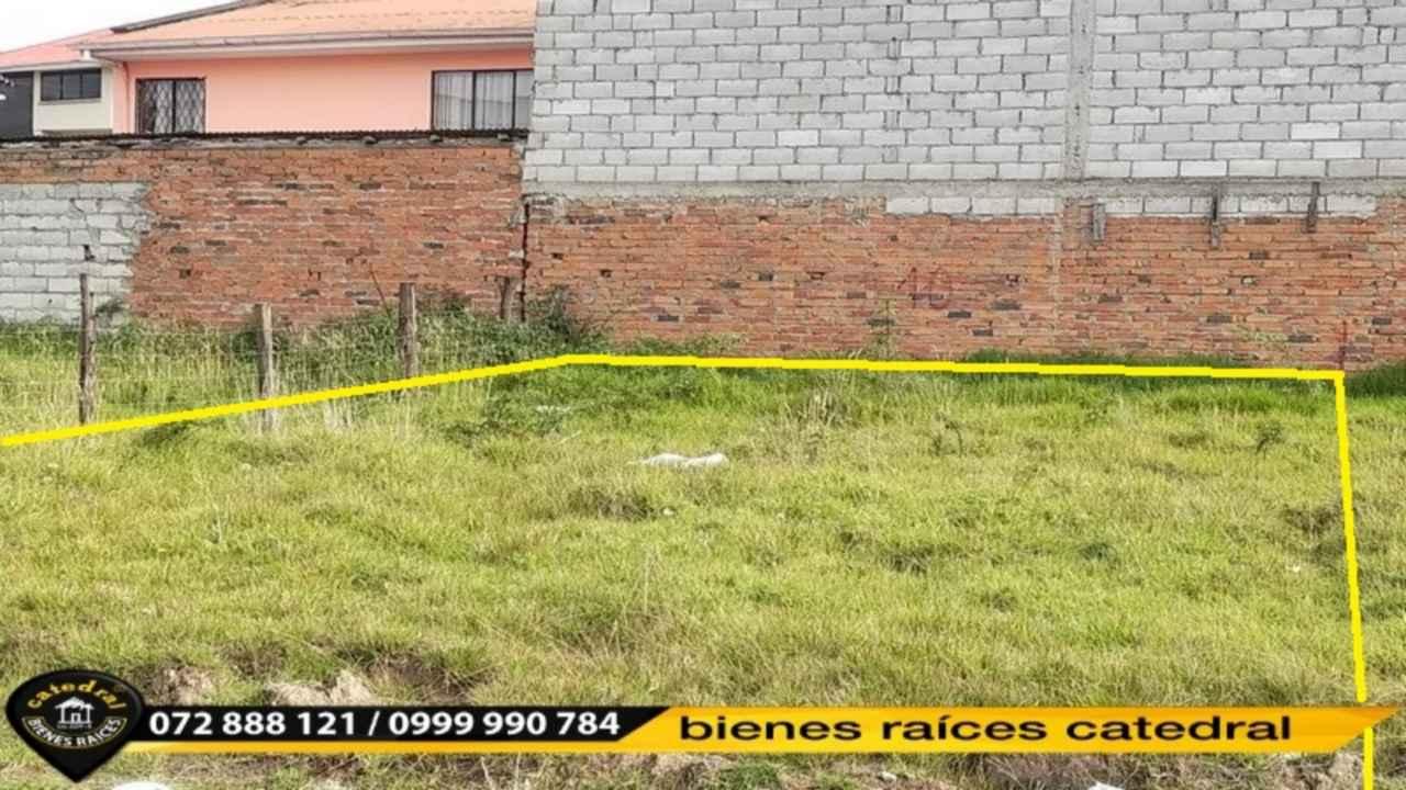 Land for Sale in Cuenca Ecuador sector Ciudadela del joyero