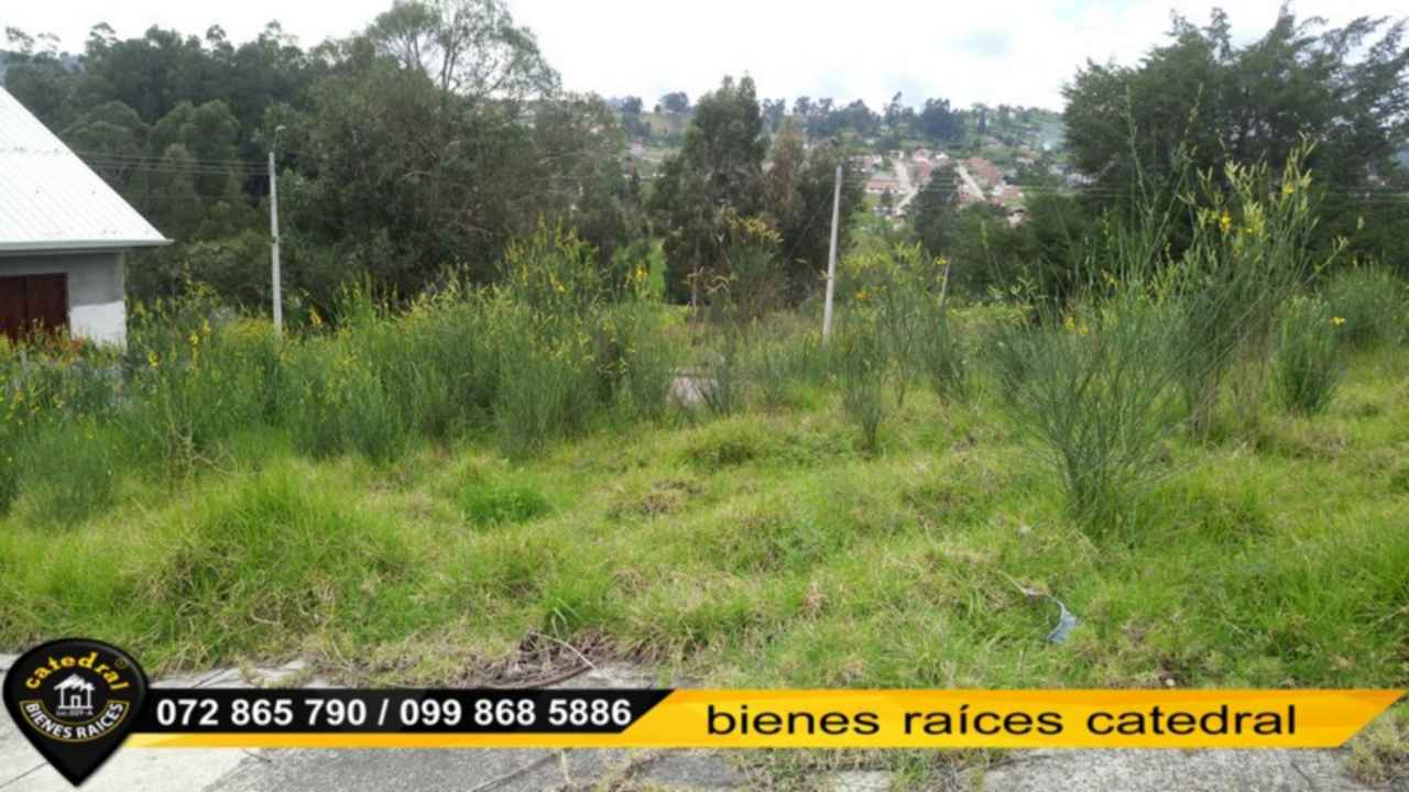 Land for Sale in Cuenca Ecuador sector Urbanización Castilla Cruz