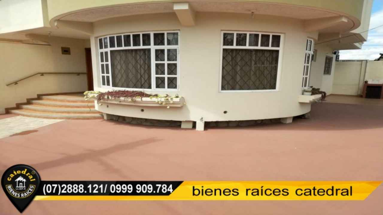 House for Rent in Cuenca Ecuador sector AMÉRICAS - MEDIO EJIDO