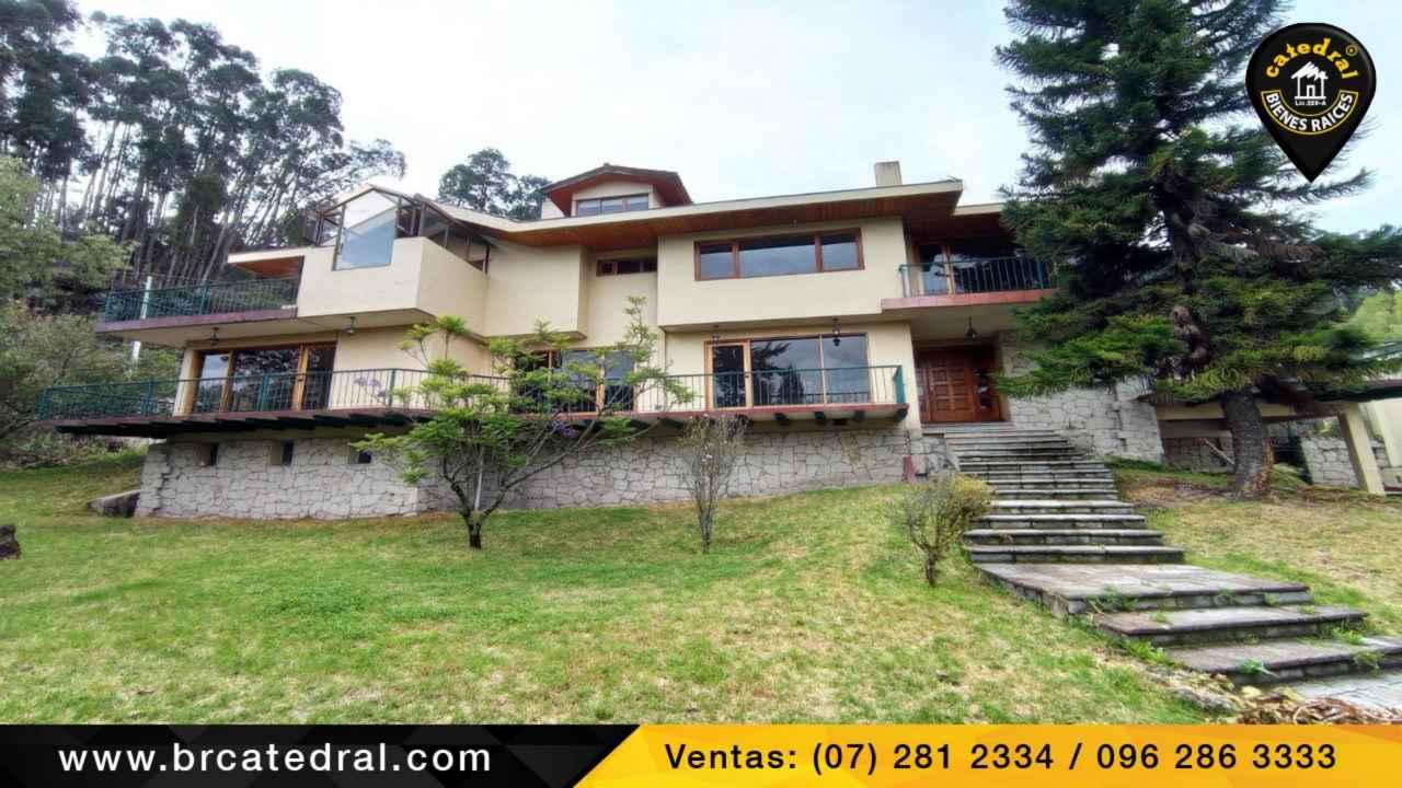 Villa Casa de Venta en Cuenca Ecuador sector Turi - Sector Vizcaya