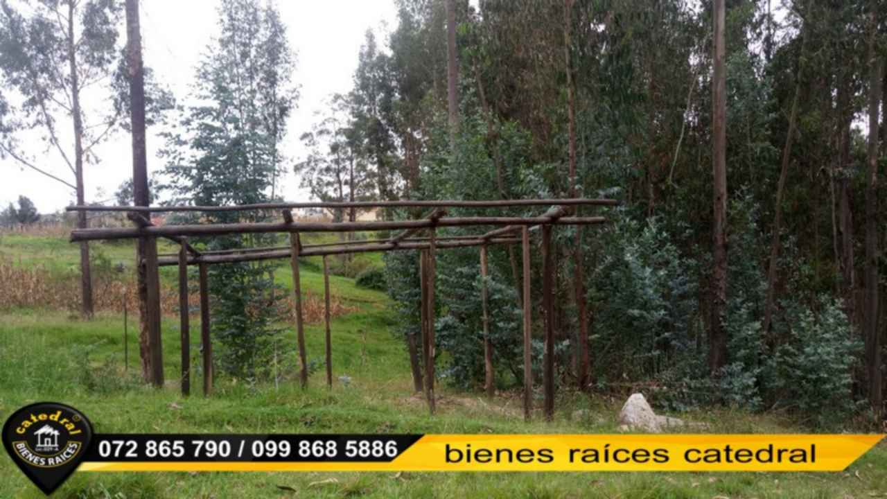 Land for Sale in Cuenca Ecuador sector Tixan - Ochoa Leon