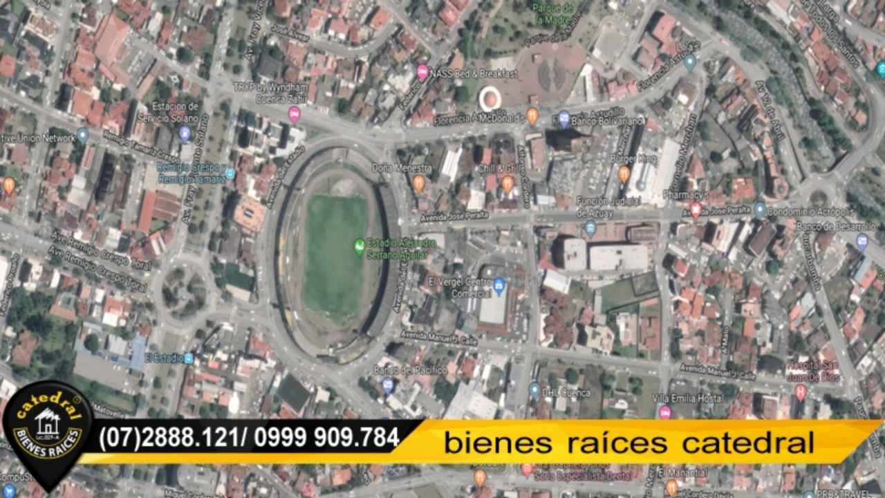 Land for Rent in Cuenca Ecuador sector ESTADIO