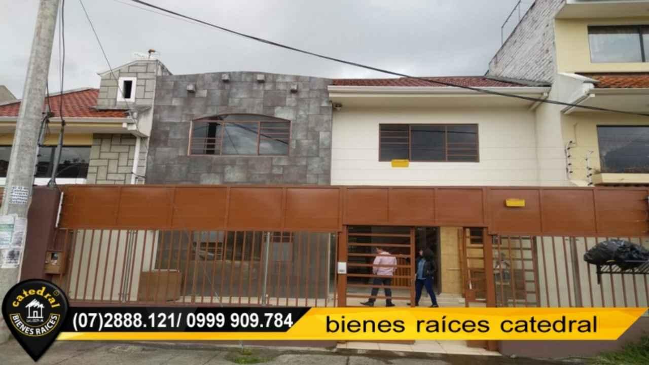 House for Rent in Cuenca Ecuador sector Circo Social - Francisco de Orellana