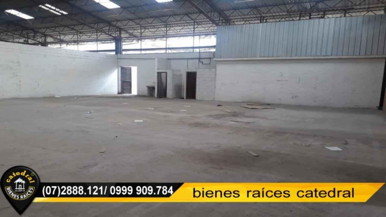 Nave Industrial de Alquiler en Cuenca Ecuador sector MONAY SHOPPING