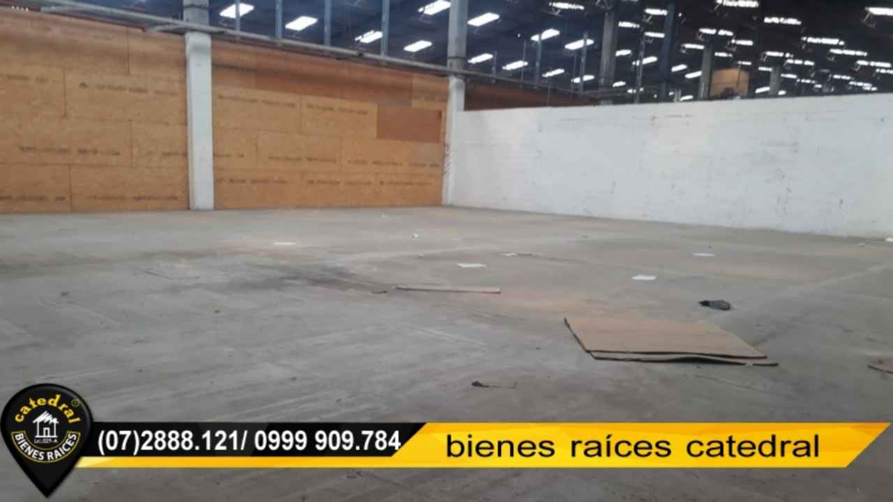 Warehouse for Rent in Cuenca Ecuador sector S/T