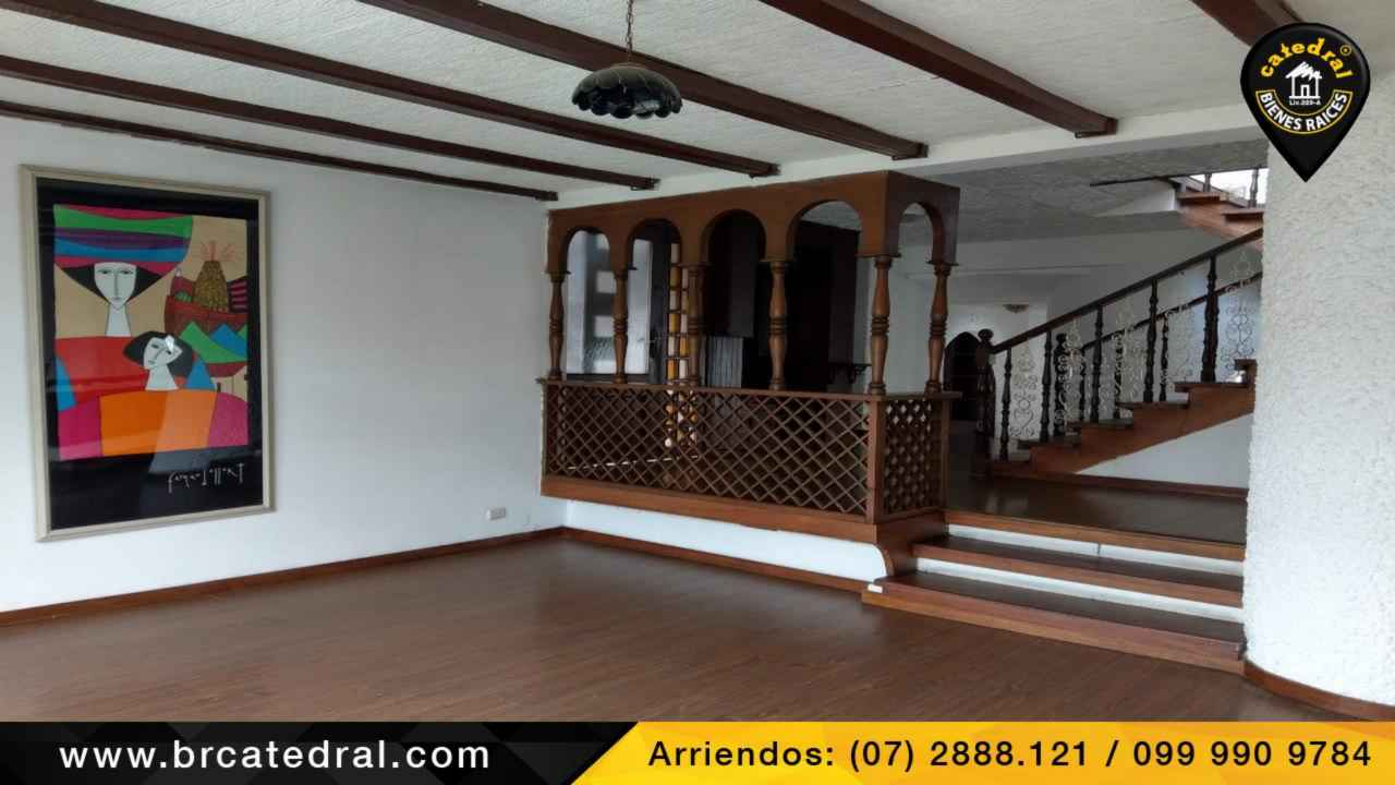 House for Rent in Cuenca Ecuador sector Estadio