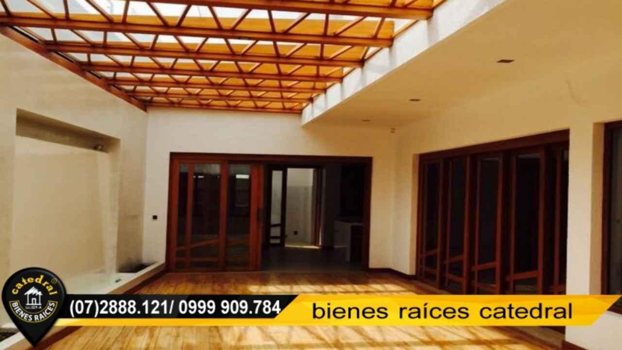 House for Rent in Cuenca Ecuador sector Machangara - Roma