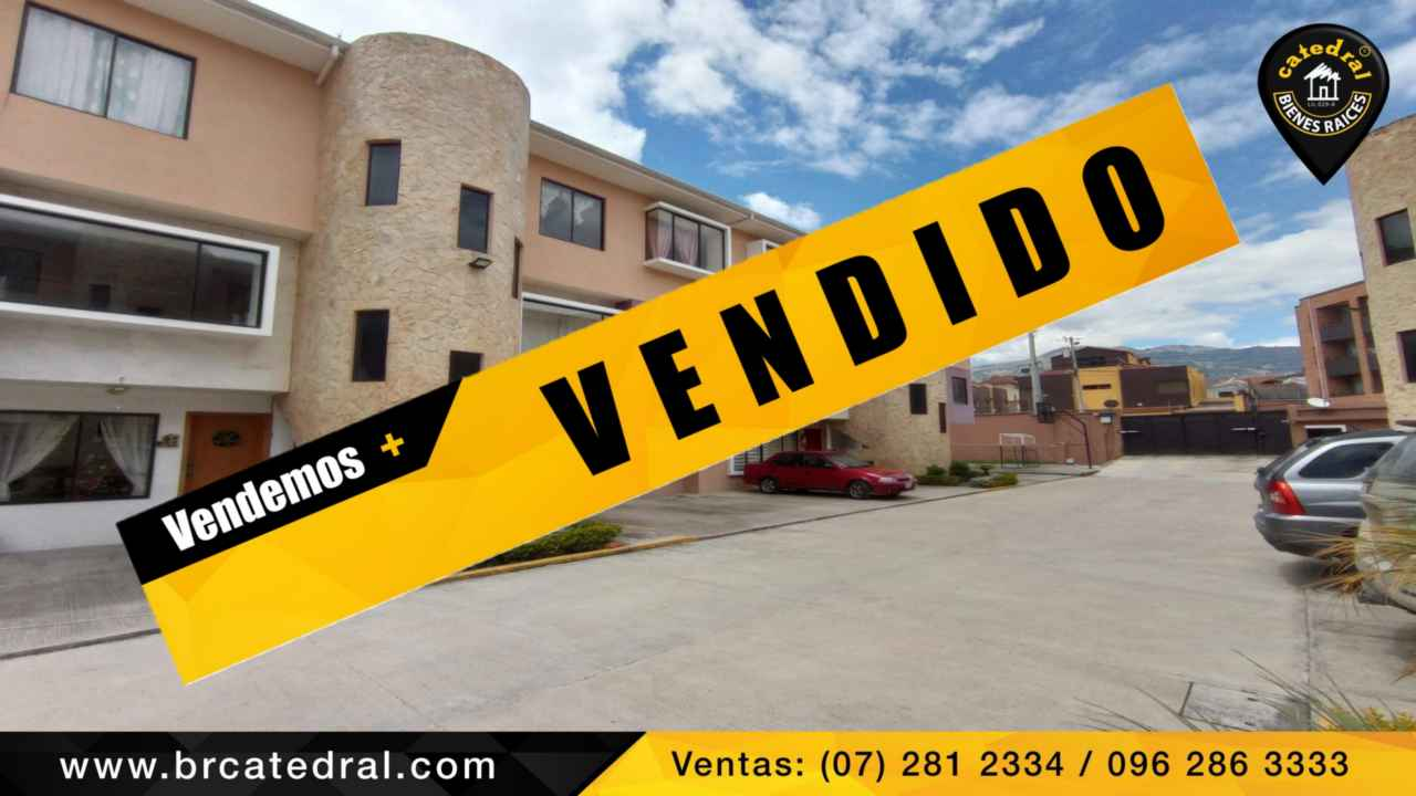 Apartment for Sale in Cuenca Ecuador sector Misicata