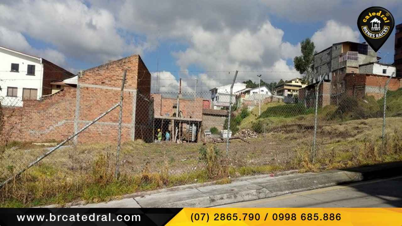 Land for Sale in Cuenca Ecuador sector Fire station - Rafael Maria Arizaga - City Center