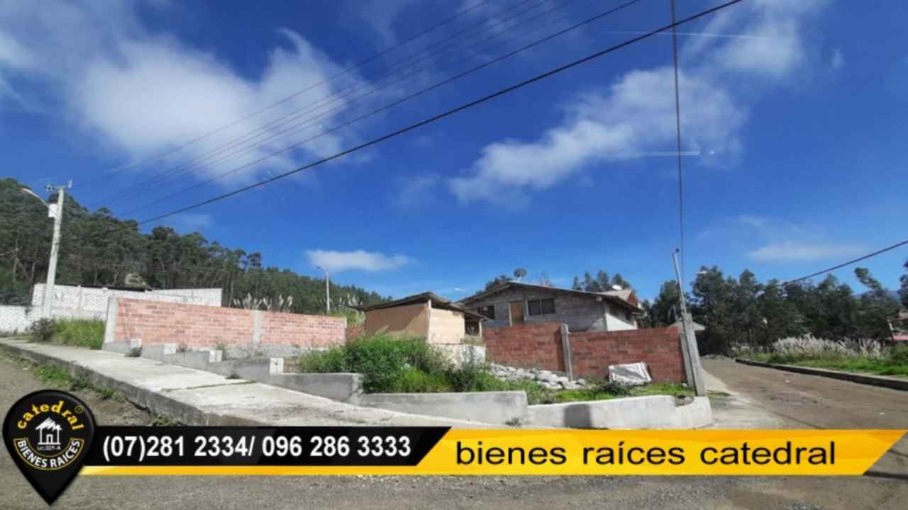 Land for Sale in Cuenca Ecuador sector LOS TRIGALES