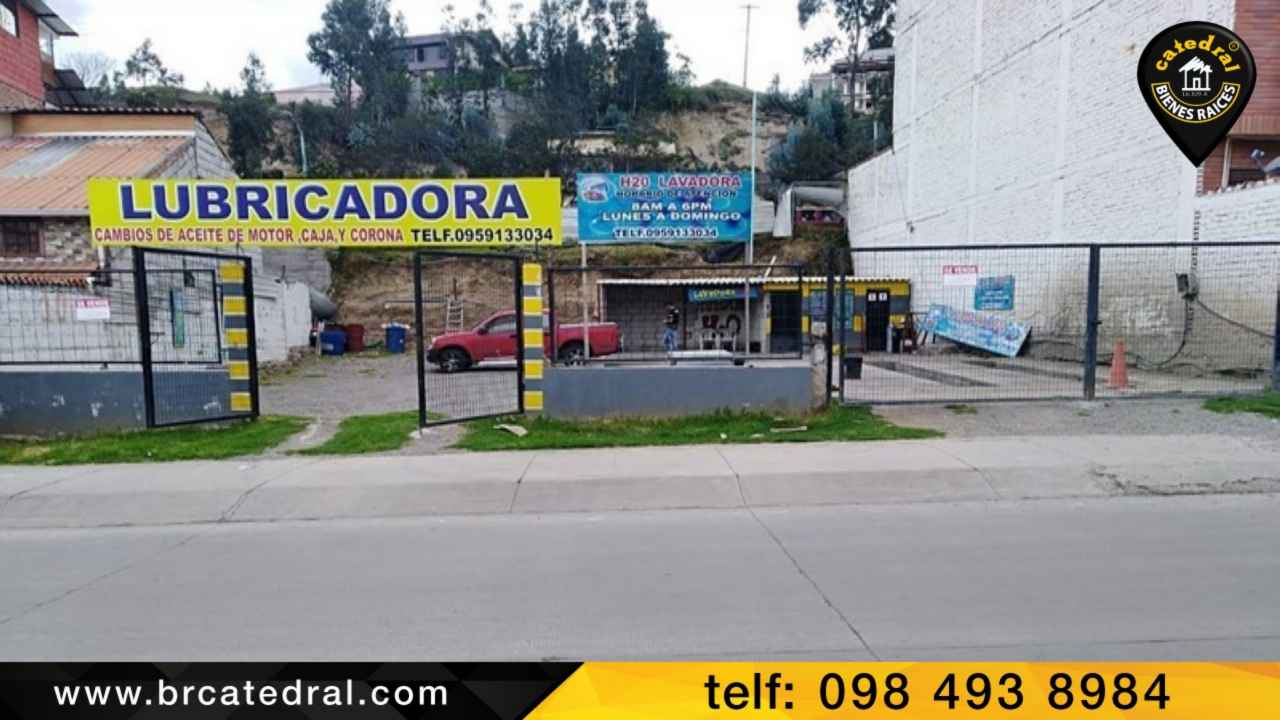 Commercial property for Sale in Azogues Ecuador sector Av. 16 de abril