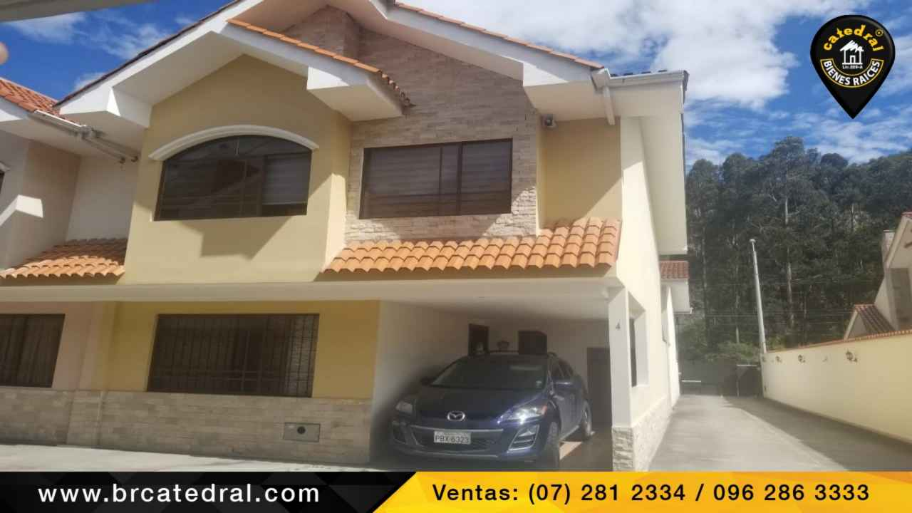 House for Sale in Cuenca Ecuador sector Roma - Machangara