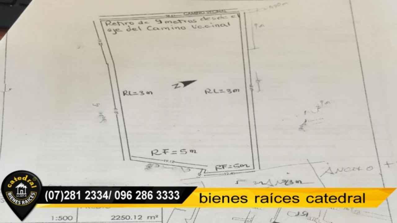 Land for Sale in Cuenca Ecuador sector 10 de agosto - Escuela Eugenio espejo