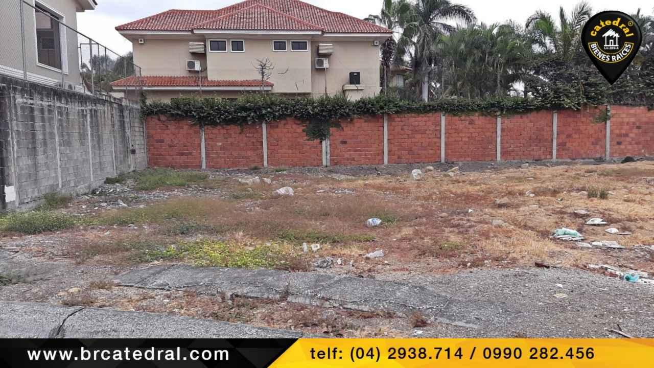 Land for Sale in Guayaquil Ecuador sector Samborondon - Las Riberas