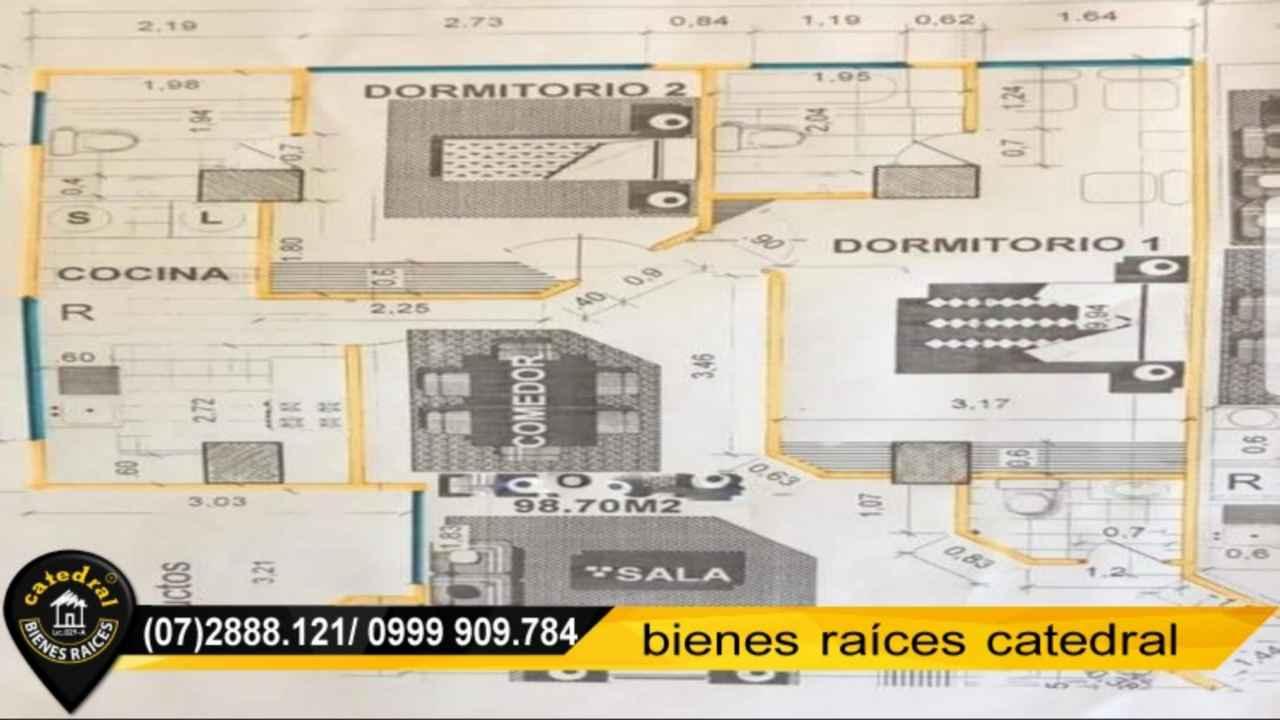 Apartment for Sale in Cuenca Ecuador sector Ordoñez Lasso - Super maxi Americas