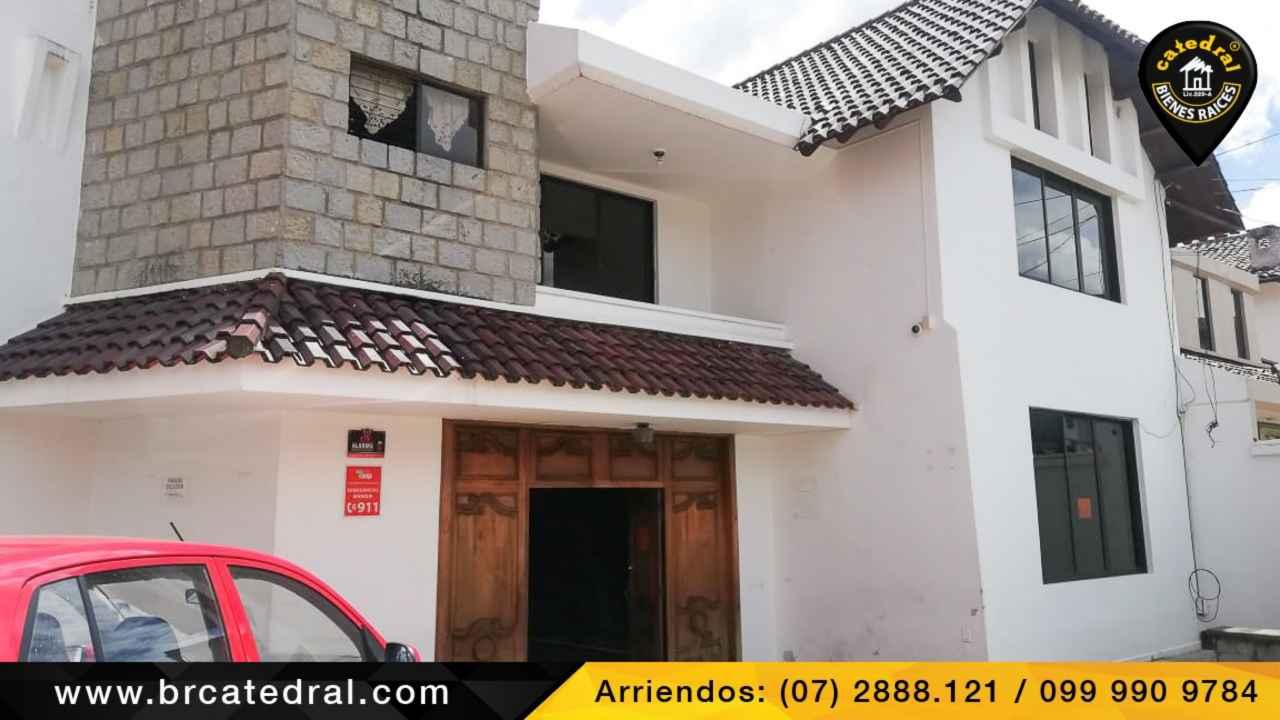 House for Rent in Cuenca Ecuador sector AVENIDA PAUCARBAMBA