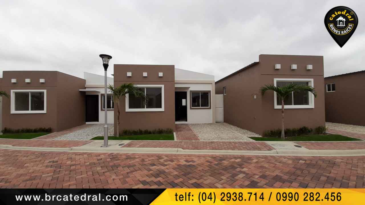 House for Sale in La Libertad Ecuador sector Santa Elena - Vía a Ancon (Villa 5)