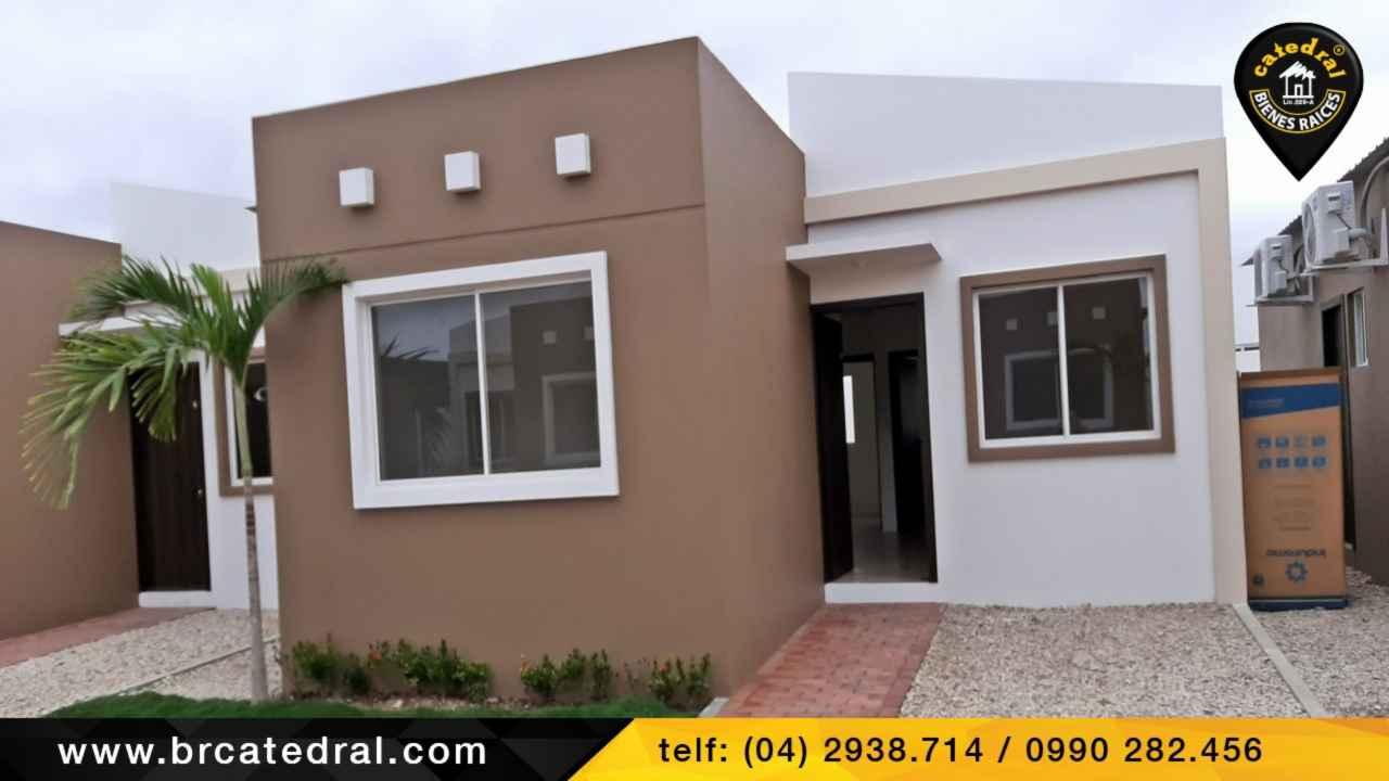 House for Sale in La Libertad Ecuador sector Santa Elena - Vía a Ancon (Villa 32)