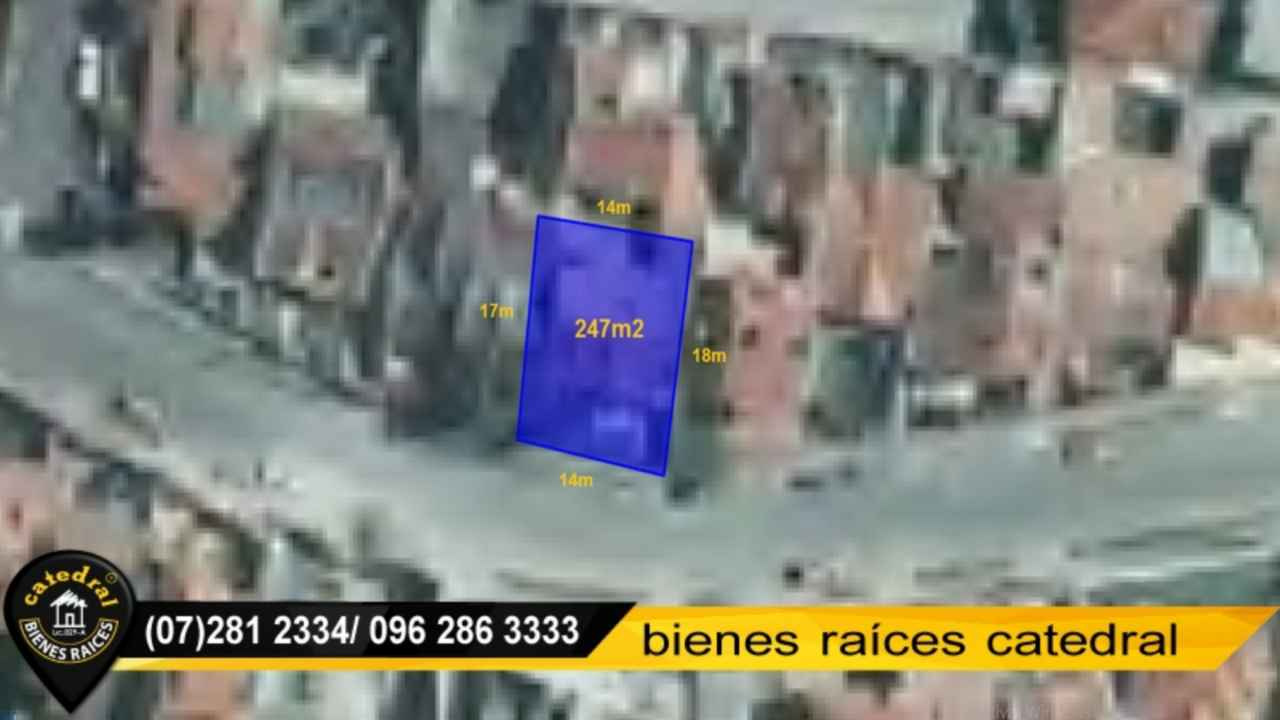 Land for Sale in Cuenca Ecuador sector 10 de agosto - 27 de febrero - bomberos