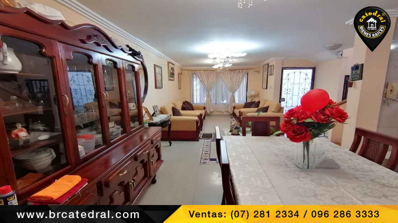 House for Sale in Cuenca Ecuador sector Centro