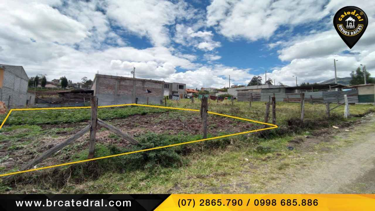 Land for Sale in Cuenca Ecuador sector Misicata