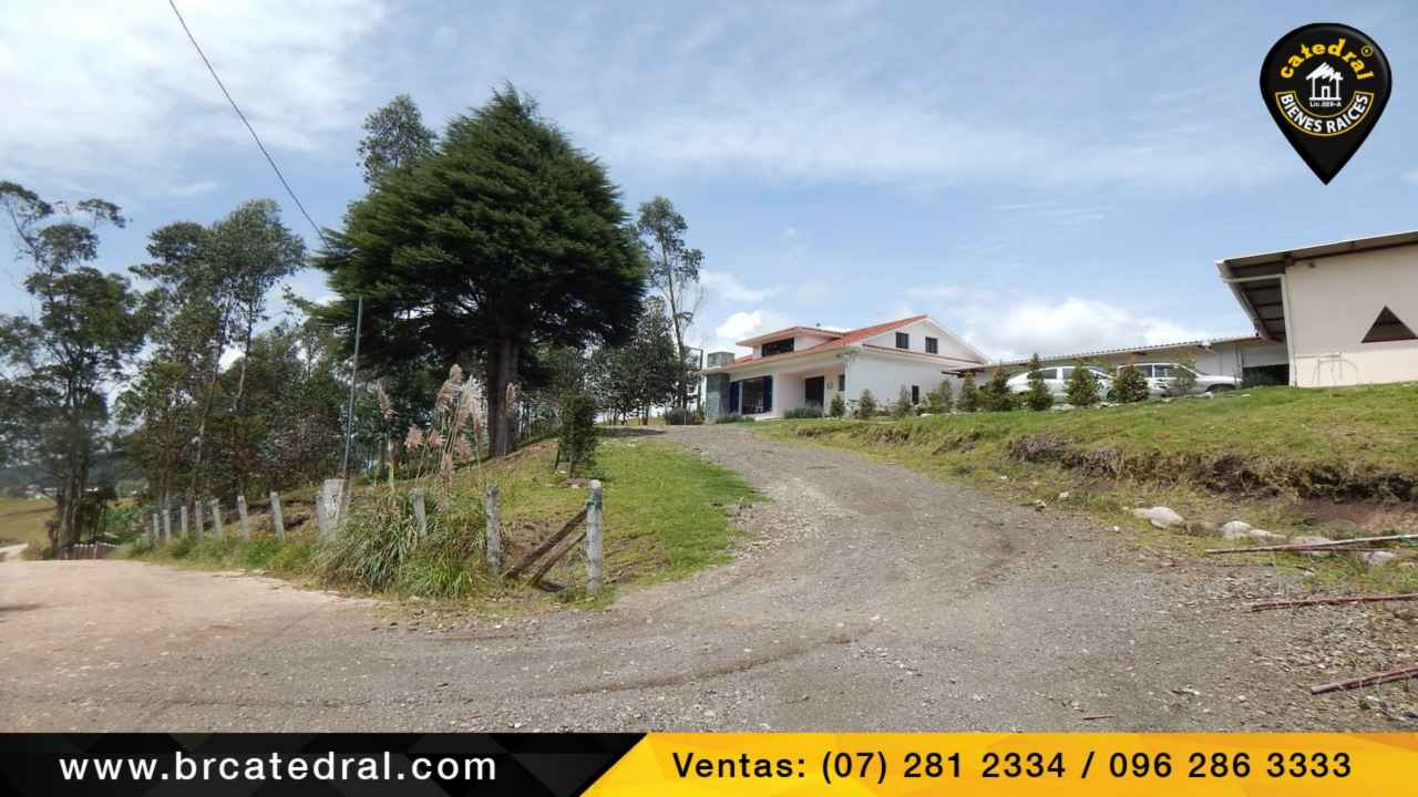 Ranch for Sale in Cuenca Ecuador sector Victoria del Portete - Tarqui