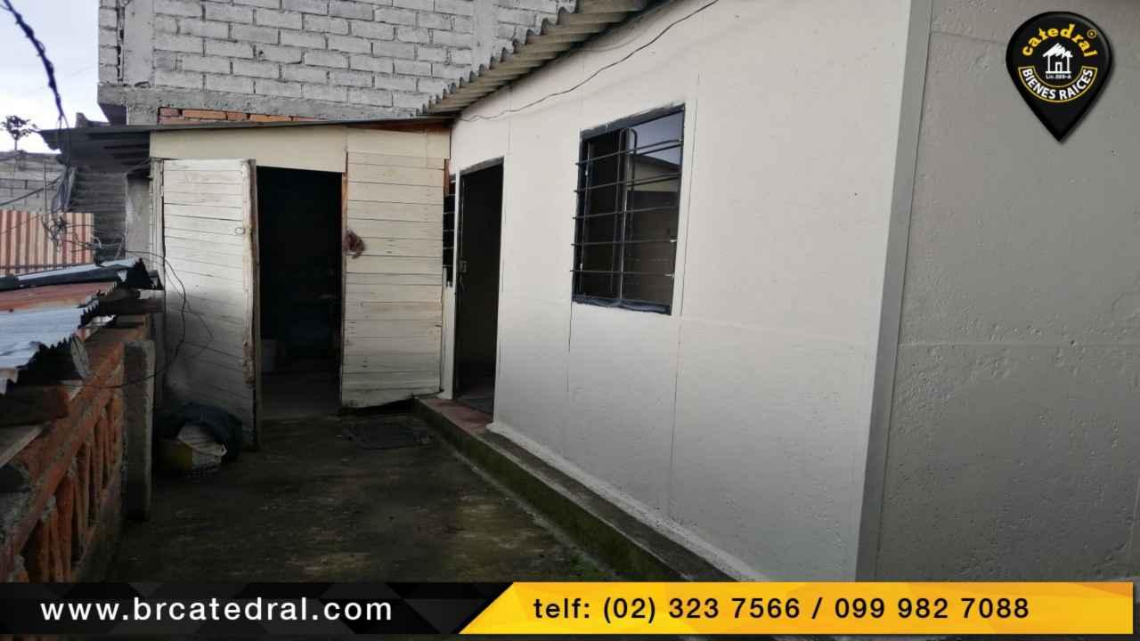 House for Sale in Quito Ecuador sector Ferroviaria - Colinas del sur