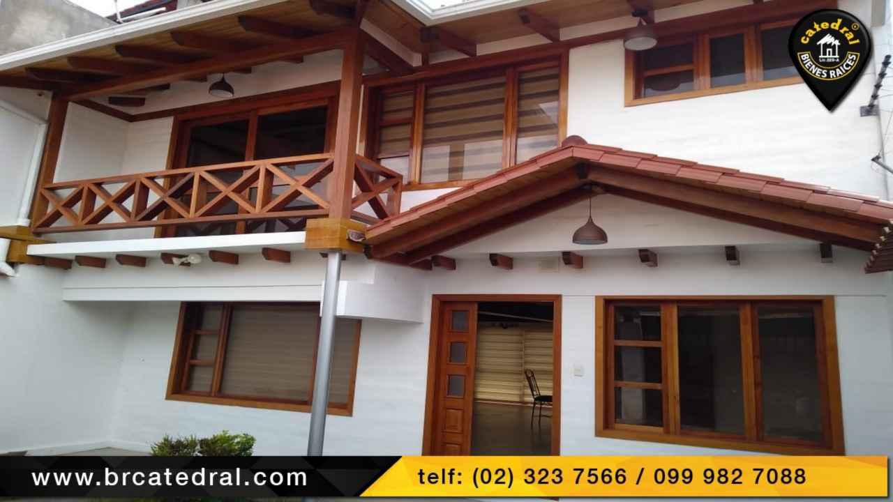 House for Rent in Quito Ecuador sector CONOCOTO - San Miguel de Conocoto