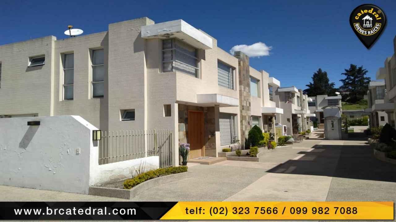 Villa Casa de Venta en Cuenca Ecuador sector Av Gonzalez Suarez - Conocoto