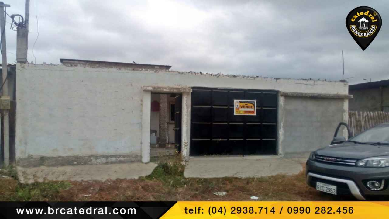 House for Sale in Playas Ecuador sector Playas
